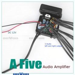 Audio Distribution signal Splitter Amplifier distribute 5 Output 6