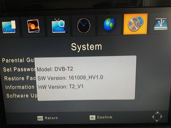 software download DVB-T221 1