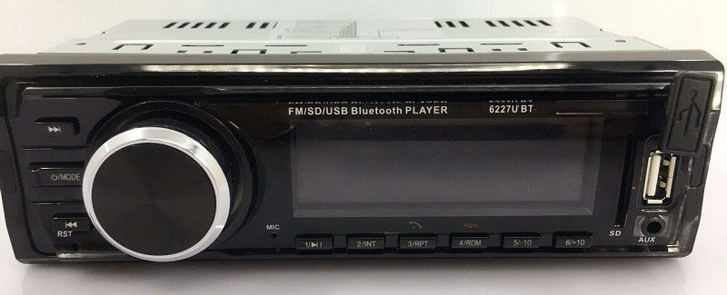 Mp3 Player Automotivo Ray X MP3-6227 Bluetooth Usb Sd 4