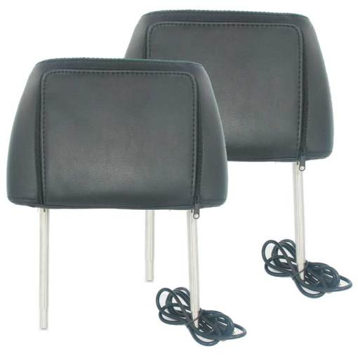 7 inch headrest monitor with pillow bag LED backlight cover zipper 5