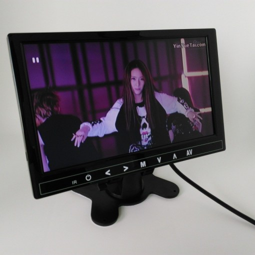 9 inch LCD monitor with USB SD mp5 player bulit in speaker with earphone plug VCAN1327 1
