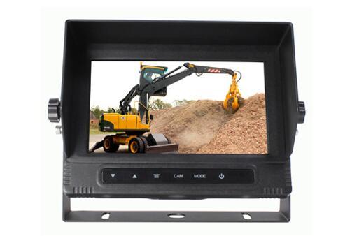 7 inch waterproof VGA car LCD Monitor VCAN1331 1
