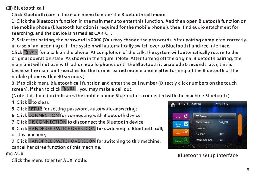 VCAN1294 user manual for 2 din GPS navigation DVD USB SD 10