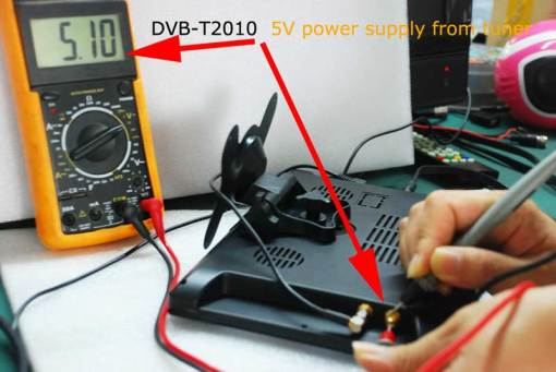 diversity dvb-t cofdm 10.1 inch digital tv monitor dvb-t2 receiver hdmi in out 6M 7M 8M bandwidth 170M to 930M frequency 3