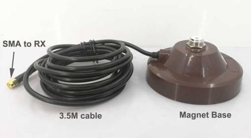 cofdm receiver antenna magnet install bracket