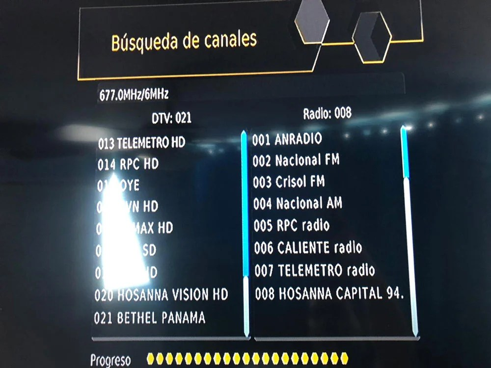 Panama Digital TV Channel List 3