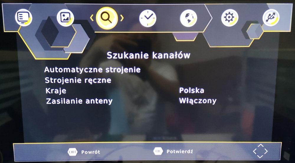 Poland car dvb-t2 MPEG2 dvb-t digital tv receiver 8