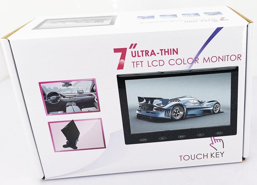 7 inch super slim monitor