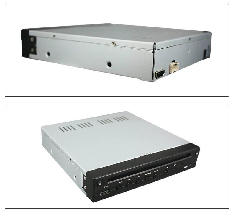 Half Din Car DVD Player HDMI output TF USB player 3