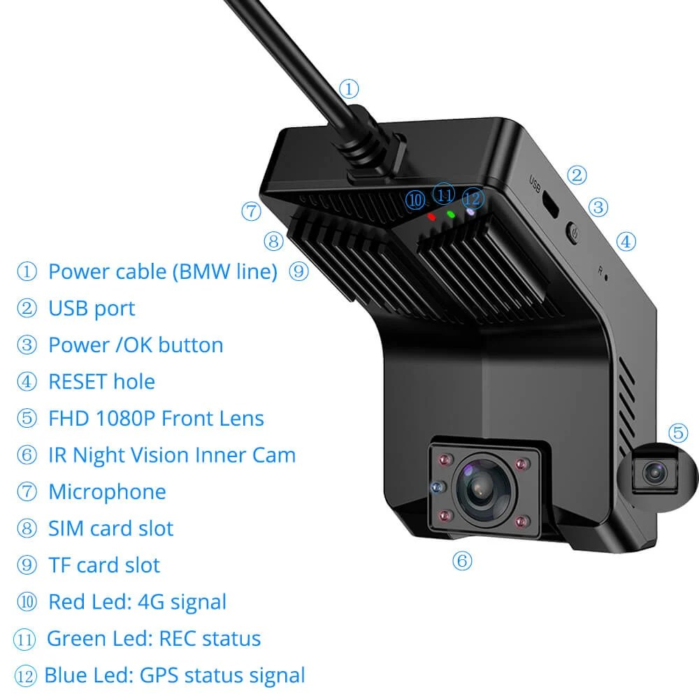 taxi camera android DVR in-car 3G 4G Dual Lens 2 Channel Dashcam mobile truck bus insureance fleet management telematics Uber driver Vcan1638 tw1 7