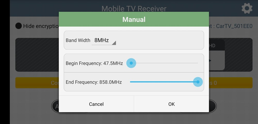 WIFI DVB-T2 Tuner Digital TV DVB-T Receiver for Android phone and pad Vcan1654 21