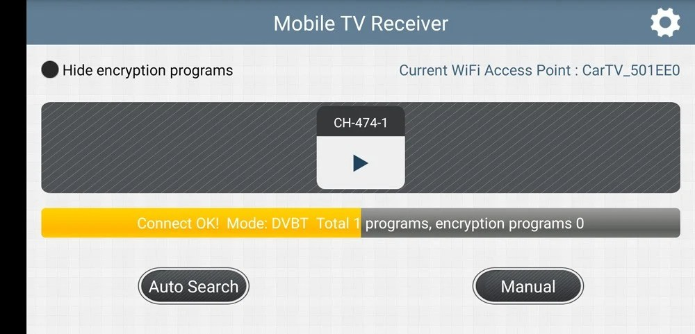 WIFI DVB-T2 Tuner Digital TV DVB-T Receiver for Android phone and pad Vcan1654 25