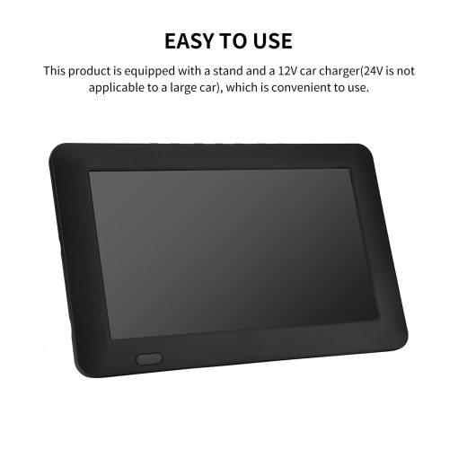 9 Inch HD Portable Digital TV DVB-T2 ATSC ISDB-T TDT Analog Mini Small Car Television Support USB SD Card MP4 AC3 4