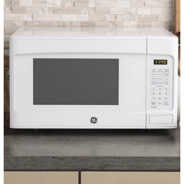 jes1145dlww ge 1 1 cu ft capacity countertop microwave oven
