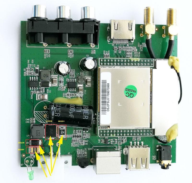 ISDB T8800 circuit protect