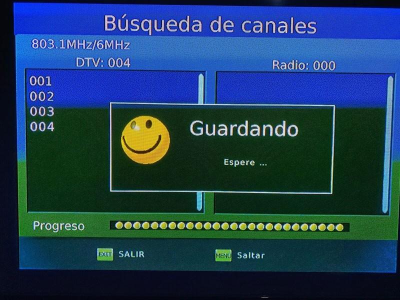 Honduras ISDB T Test Vcan 3