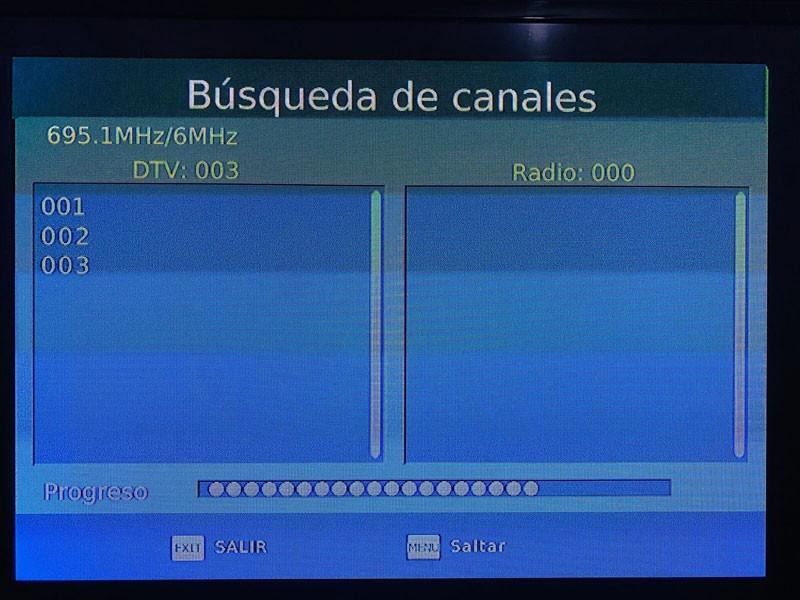 Honduras ISDB T Test Vcan 4