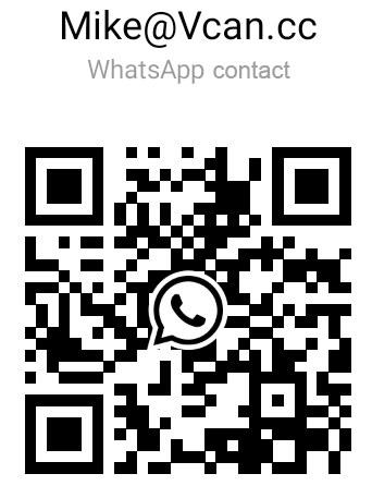 Vcan Whatsapp Contact QR code