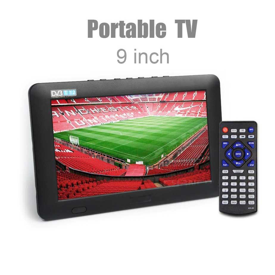 9 inch HD portable tv