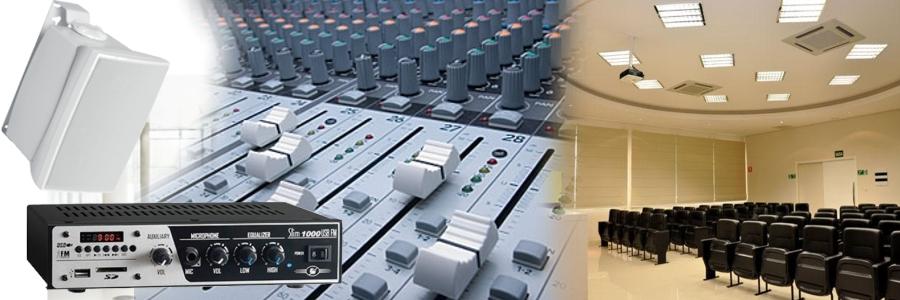 A VCA Teletron realiza projetos e instalações de som ambiente residencial e comercial em Salvador.