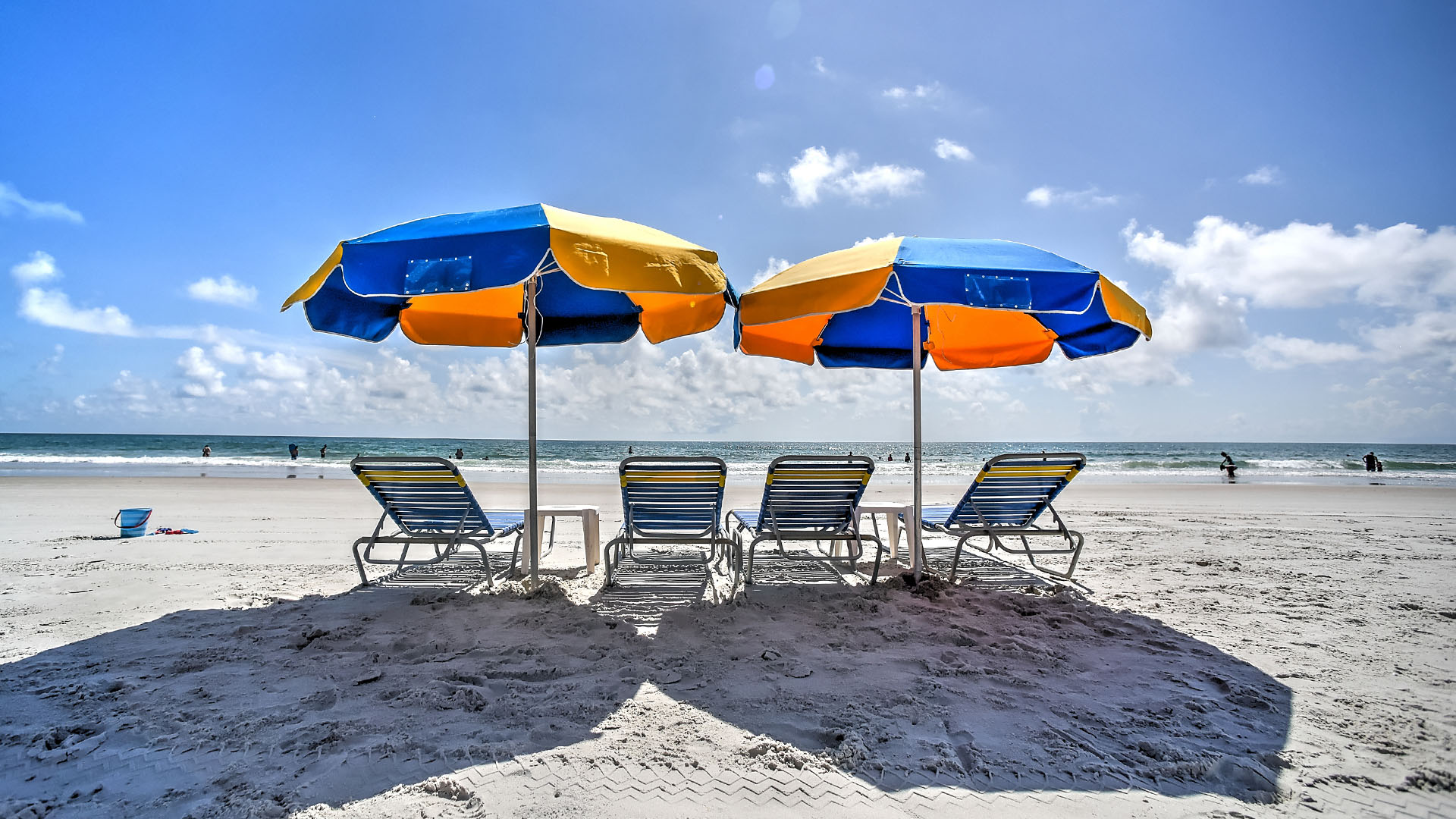 Beach Chairs With Umbrella Pricing Volusia County Beach Rentals