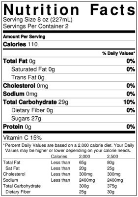 Mike's Harder Cranberry Nutrition Facts : mike's, harder, cranberry, nutrition, facts, Mike's, Lemonade, Nutrition, Label, Labels, Database