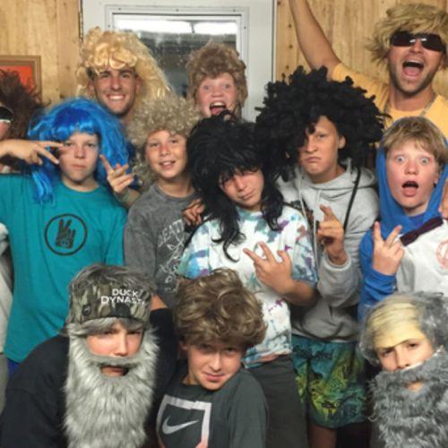 Junior High Camp Pondo Trip