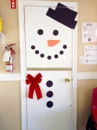 Snowman Door | Victoria Children's Centre Daycare