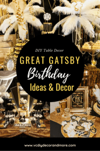 Great Gatsby Party Decorations & Ideas For A DIY Gatsby ...