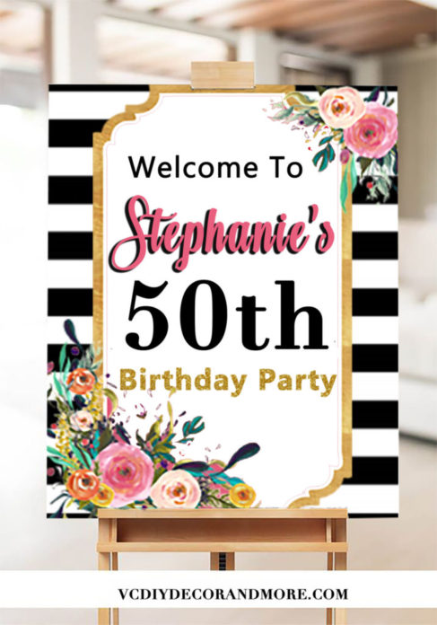 50th birthday ideas for