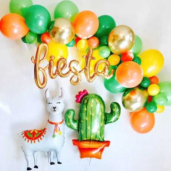 fiesta bachelorette party decorations