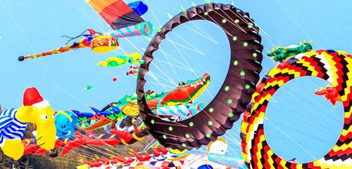 Lễ hội Diều Bay cao những ước mơ tiếp tục diễn ra vào thứ 7 và chủ nhật từ 9h30  17h00 trong suốt mùa hè 2017
