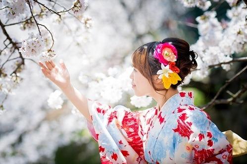 Trang phục kimono là một nét đặc trưng của người Nhật Bản. Ảnh: Govoyagin.