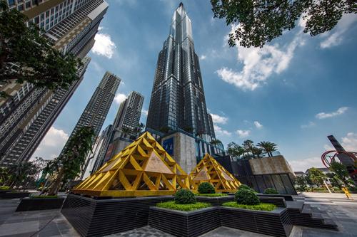 Tòa tháp Landmark 81.