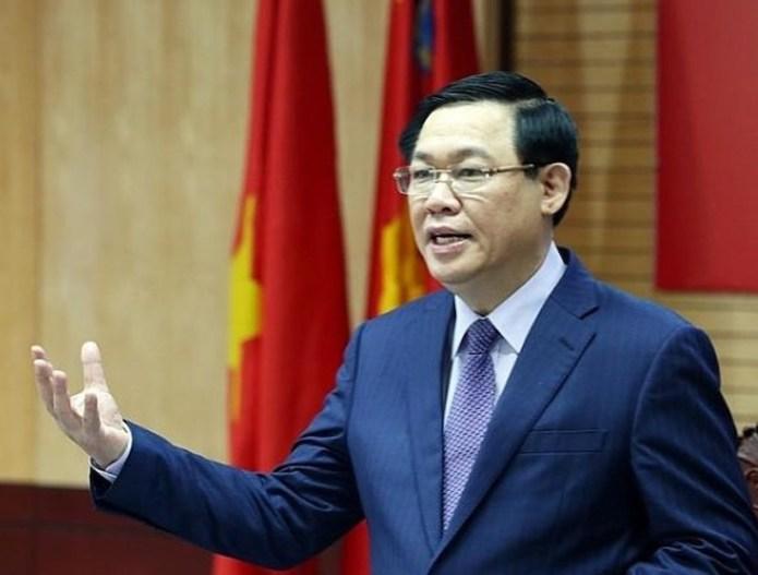 Phó thủ tướng Vương Đình Huệ. Ảnh: PV