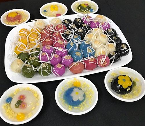 Công thức bánh trôi ngũ sắc đơn giản cho ngày Tết Hàn thực