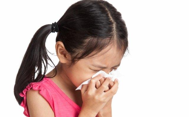 Nhiễm khuẩn đường hô hấp là bệnh rất phổ biến ở trẻ em. Ảnh: healthxchange