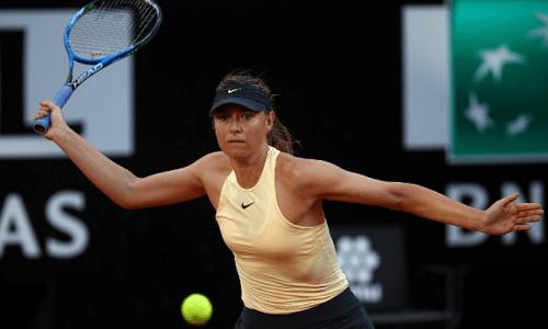 Sharapova lần đầu thắng trắng ở Rome Masters