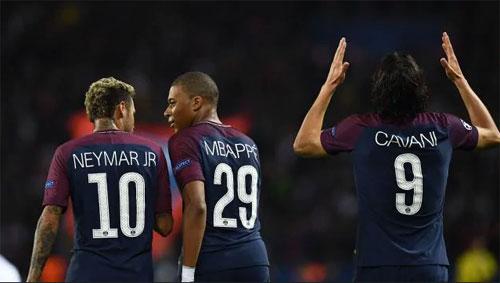 Thống kê chỉ ra Neymar và Mbappe chia rẽ với Cavani