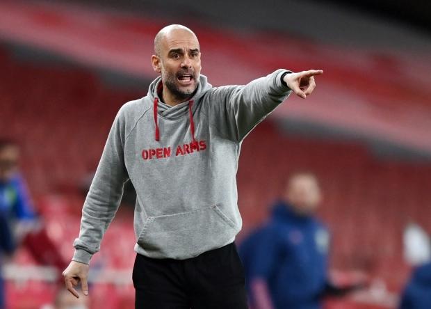 Đội bóng của Guardiola đã thắng 18 trận liên tiếp trên mọi đấu trường. Ảnh: Reuters.