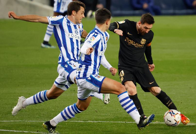 Barca trút mưa bàn lên Sociedad - VnExpress Thể thao