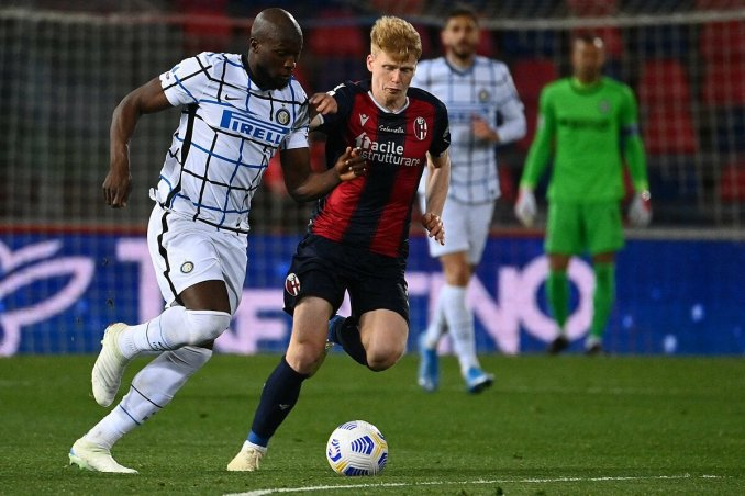 Hàng công chỉ ghi sáu bàn trong bốn trận gần nhất, nhưng Inter vẫn kiếm đủ 12 điểm. Ảnh: Goal.