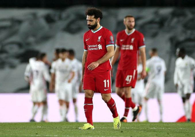 Salah và các đồng đội trải qua ngày thi đấu đáng quên. Ảnh: Reuters.