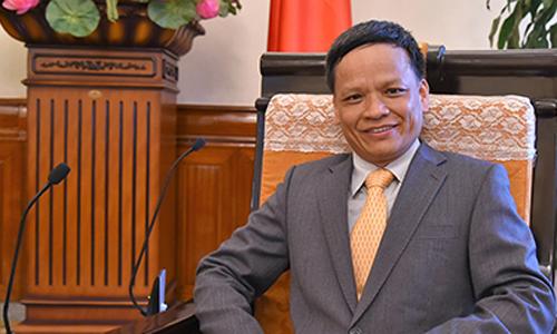 Đại sứ Nguyễn Hồng Thao. Ảnh: Bộ Ngoại giao Việt Nam.