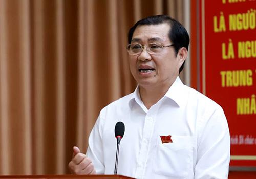 Ông Huỳnh Đức Thơ - Chủ tịch UBND TP Đà Nẵng. Ảnh: Nguyễn Đông.