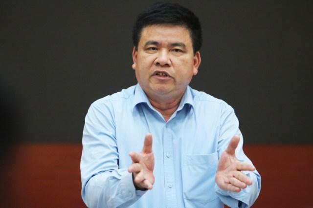 Ông Trần Xuân Hà - Phó ban tuyên giáo thành uỷ Hà Nội. Ảnh: Võ Hải.