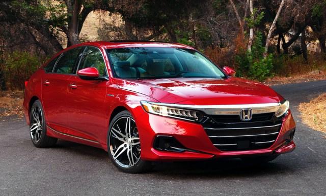 Accord phiên bản mới ra mắt tại Mỹ. Ảnh: Honda