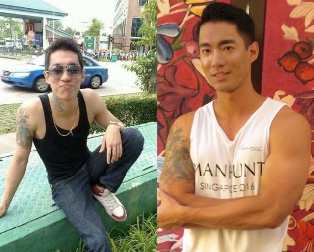 Jadyn Ng năm 2010 (trái) và năm 2016. Ảnh: Jadyn Ng.