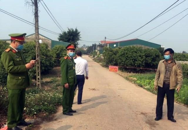 Bắc Giang phong toả 3 thôn do có hai F1 đi chúc Tết