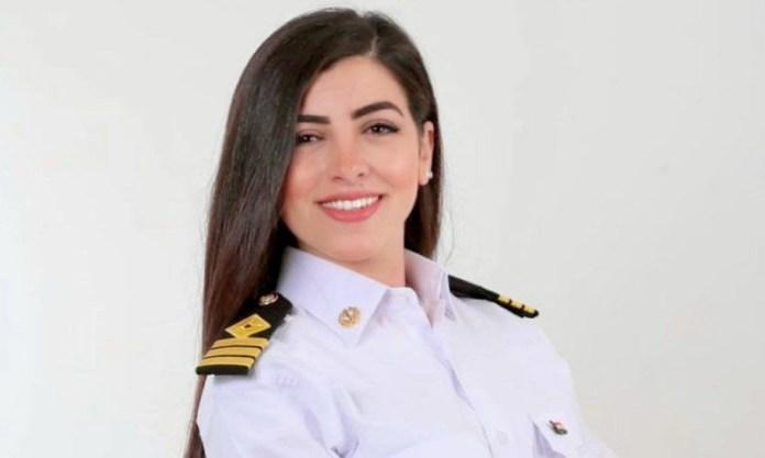 Nữ thuyền trưởng Marwa Elselehdar. Ảnh: BBC.